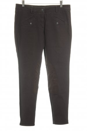Cambio Pantalone da equitazione marrone scuro-marrone stile motociclista
