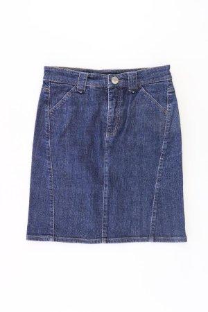 Cambio Skirt blue-neon blue-dark blue-azure cotton