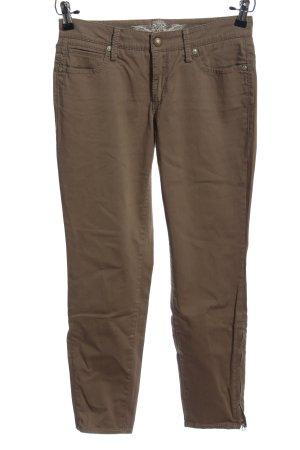 Cambio Pantalon cigarette brun style décontracté