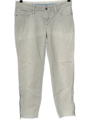 Cambio Jeans cigarette gris clair style décontracté