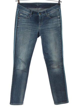 Cambio Jeans cigarette bleu style décontracté