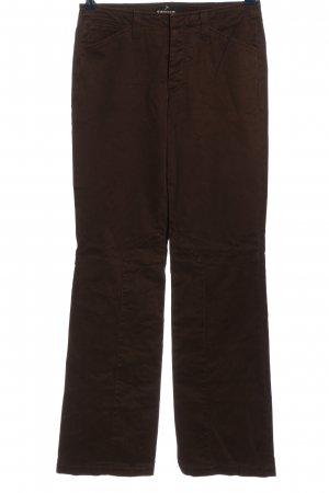Cambio Jeans coupe-droite brun style décontracté