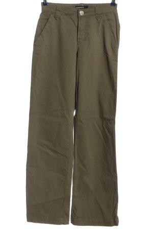Cambio Pantalon pattes d'éléphant brun style décontracté