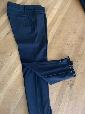 Cambio 7/8 Length Trousers black-silver-colored