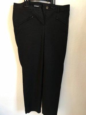 Cambio Jeans Lage taille broek zwart