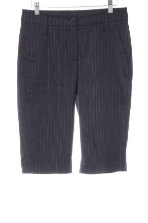 Cambio Shorts dunkelblau Business-Look