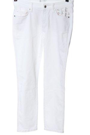 Cambio Jeans skinny bianco stile casual