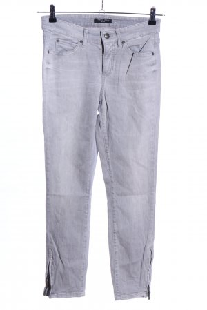 Cambio Skinny Jeans light grey casual look
