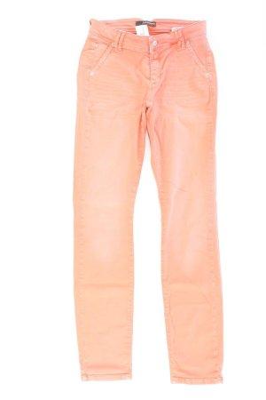 Cambio Skinny Jeans Größe 34 orange aus Baumwolle