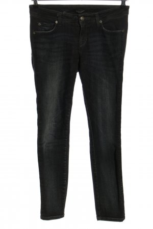Cambio Jeans slim fit nero stile casual