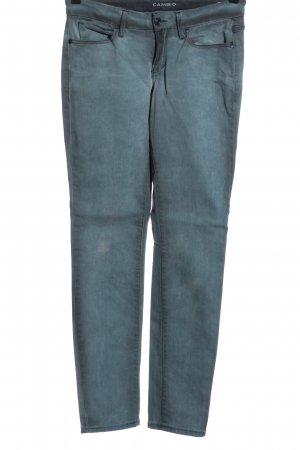 Cambio Slim jeans blauw casual uitstraling