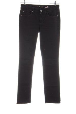 Cambio Slim Jeans schwarz Casual-Look
