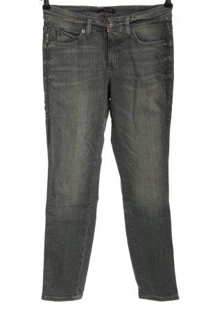 Cambio Jeans slim gris clair style décontracté