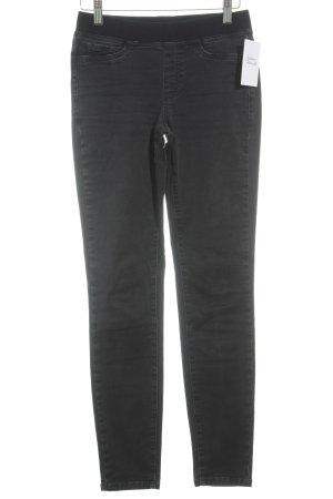 Cambio Slim Jeans dunkelgrau Casual-Look