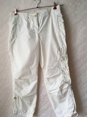 Cambio 7/8 Length Trousers oatmeal