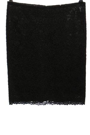 Cambio Koronkowa spódnica czarny Elegancki