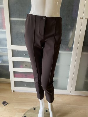 Cambio Strapped Trousers dark brown