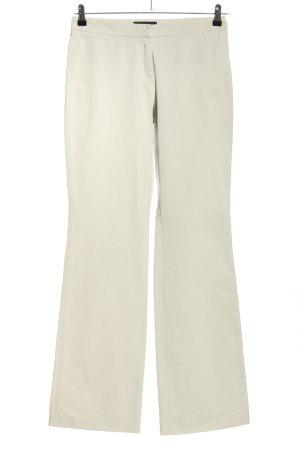 Cambio Pantalone jersey bianco sporco stile casual