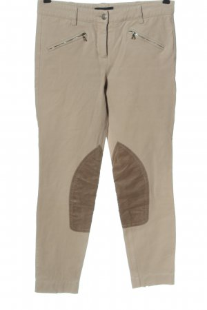Cambio Jersey Pants cream-brown casual look