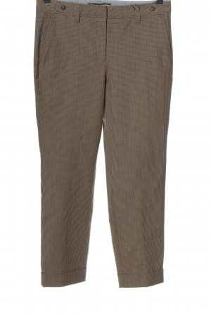 Cambio Stoffhose Allover-Druck Business-Look