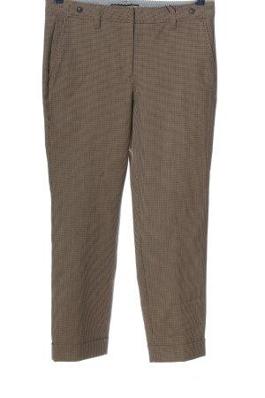 Cambio Pantalon en jersey imprimé allover style d'affaires