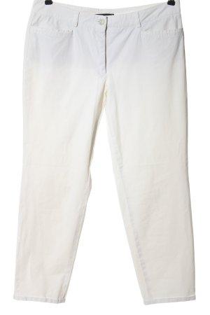 Cambio Stoffhose weiß-wollweiß Farbverlauf Casual-Look