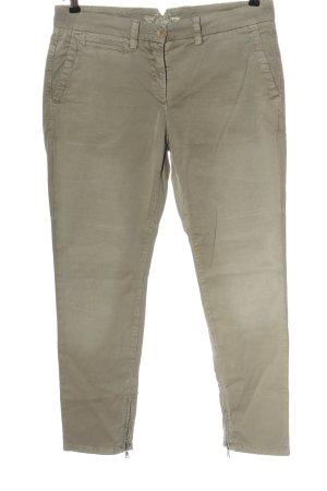 Cambio Jersey Pants light grey casual look