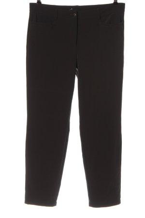 Cambio Pantalone jersey nero stile casual