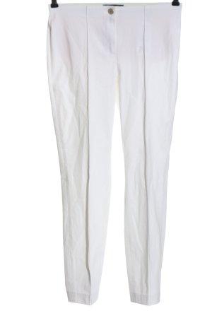 Cambio Pantalon en jersey blanc style décontracté