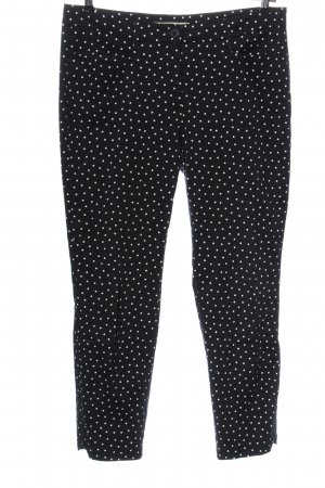 Cambio Jersey Pants black-white spot pattern casual look