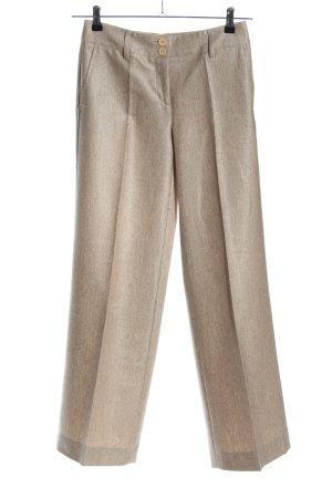 Cambio Jersey Pants nude flecked casual look