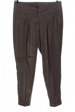 Cambio Jersey Pants brown casual look