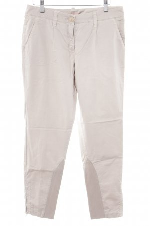 Cambio Stoffhose beige-creme Business-Look