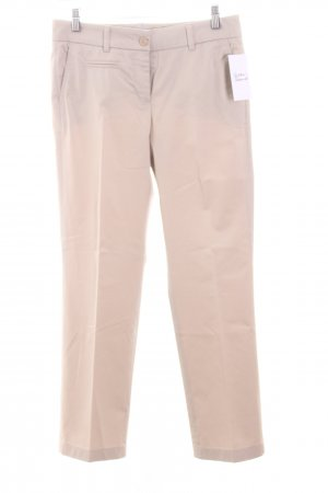Cambio Stoffhose hellbeige Business-Look