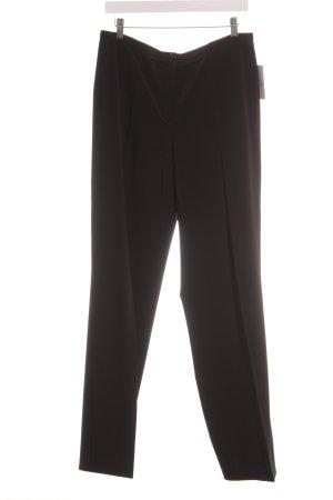 Cambio Pantalon en jersey noir style d'affaires