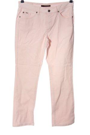 Cambio Jeansy z prostymi nogawkami różowy W stylu casual