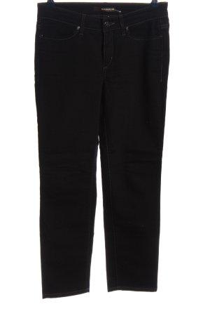 Cambio Jeansy z prostymi nogawkami czarny W stylu casual