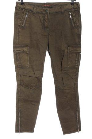 Cambio Jeansy z prostymi nogawkami khaki W stylu casual