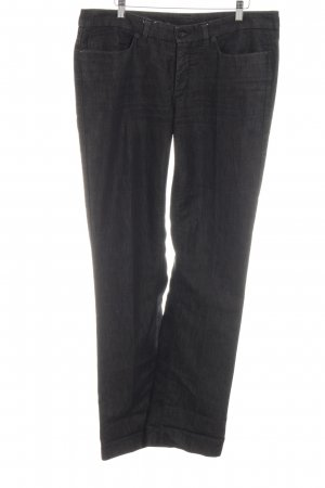 Cambio Straight-Leg Jeans schwarz meliert Casual-Look
