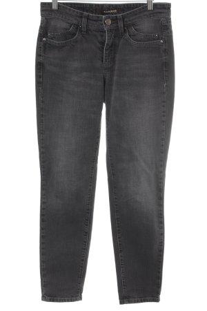 Cambio Jeansy z prostymi nogawkami ciemnoszary-szary