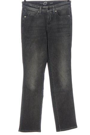 Cambio Jeansy z prostymi nogawkami jasnoszary W stylu casual