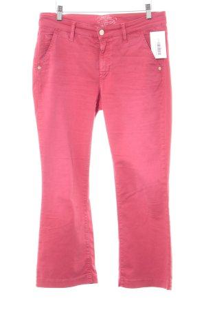 Cambio Jeansy z prostymi nogawkami jasnoczerwony W stylu casual