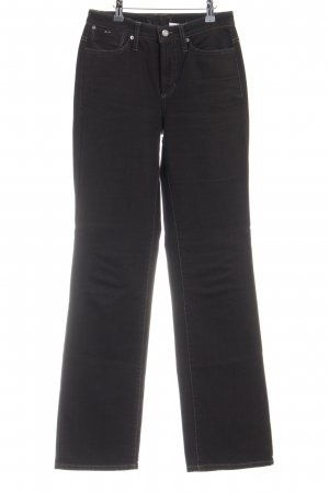 Cambio Jeans coupe-droite violet style décontracté