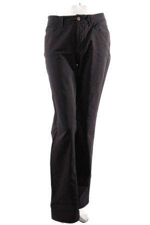 Cambio Straigt Jeans schwarz