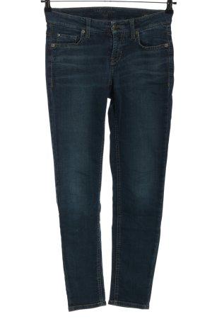Cambio Jeans stretch bleu style décontracté