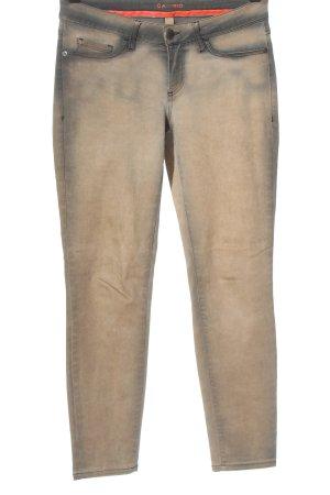 Cambio Jeans elasticizzati grigio chiaro-crema stile casual