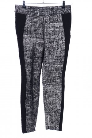 Cambio Stretch Trousers black-white flecked casual look