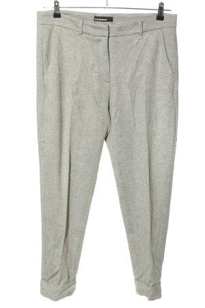 Cambio Pantalone da abito grigio chiaro puntinato stile professionale