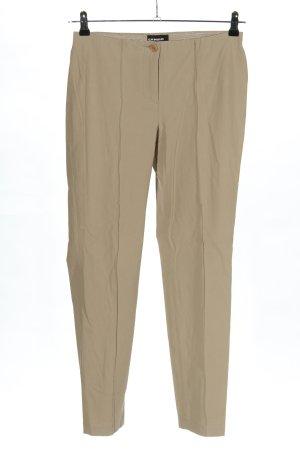 Cambio Pantalon strech crème style d'affaires