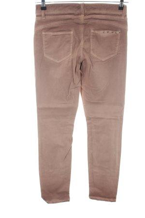Cambio Pantalón elástico marrón degradado de color look casual